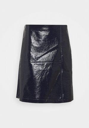 LAMBERT - A-line skirt - blu