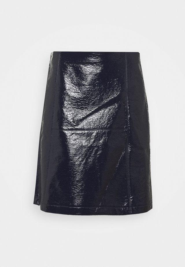LAMBERT - Áčková sukně - blu