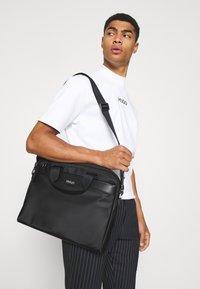 HUGO - LUXOWN CASE UNISEX - Laptop bag - black - 0