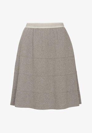 FENJA - A-line skirt - legno
