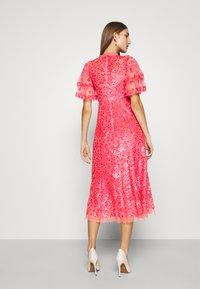 Needle & Thread - SEREN BALLERINA DRESS - Koktejlové šaty/ šaty na párty - watermelon pink - 2