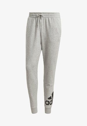 ESSENTIALS FRENCH TERRY TAPERED CUFF LOGO JOGGERS - Verryttelyhousut - grey