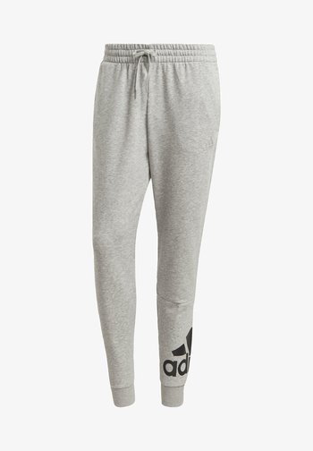 ESSENTIALS FRENCH TERRY TAPERED CUFF LOGO JOGGERS - Træningsbukser - grey