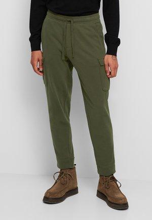 Cargo trousers - burnt leaf