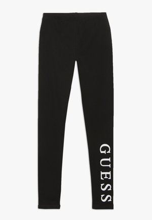 JUNIOR CORE - Leggings - Trousers - jet black