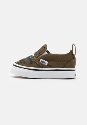 Sneakers laag - military olive/true white