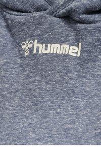 Hummel - Hoodie - blue nights melange - 3