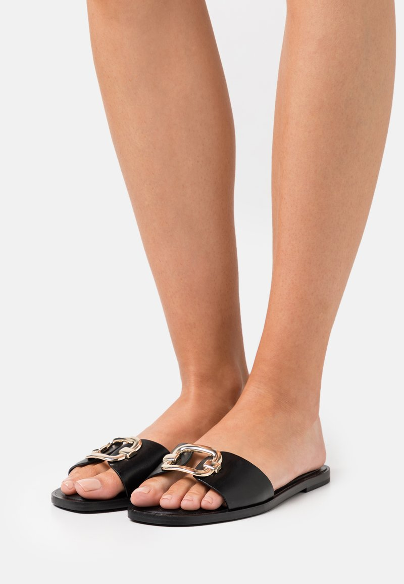 ALDO - GLAESWEN - Pantofle - black