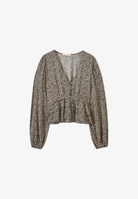 PULL&BEAR - Blouse - black - 5