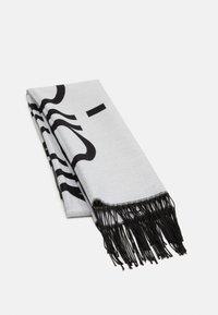 Calvin Klein - SCARF  - Šála - white/black - 0