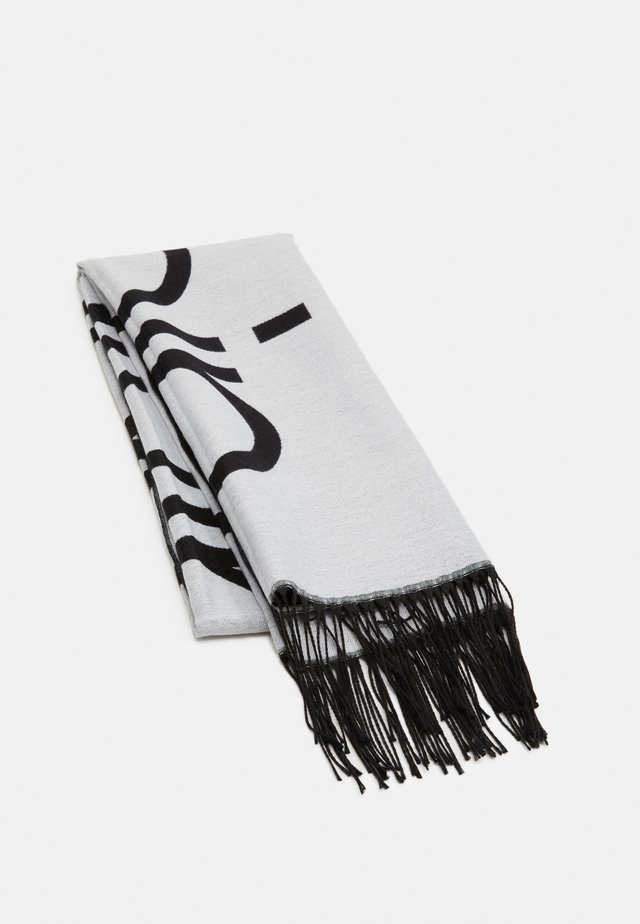 SCARF  - Sciarpa - white/black