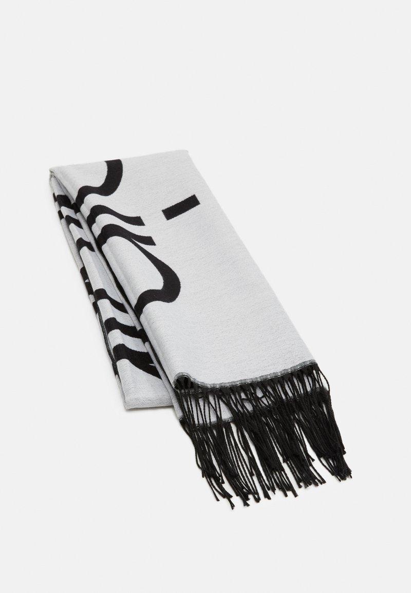 Calvin Klein - SCARF  - Šála - white/black