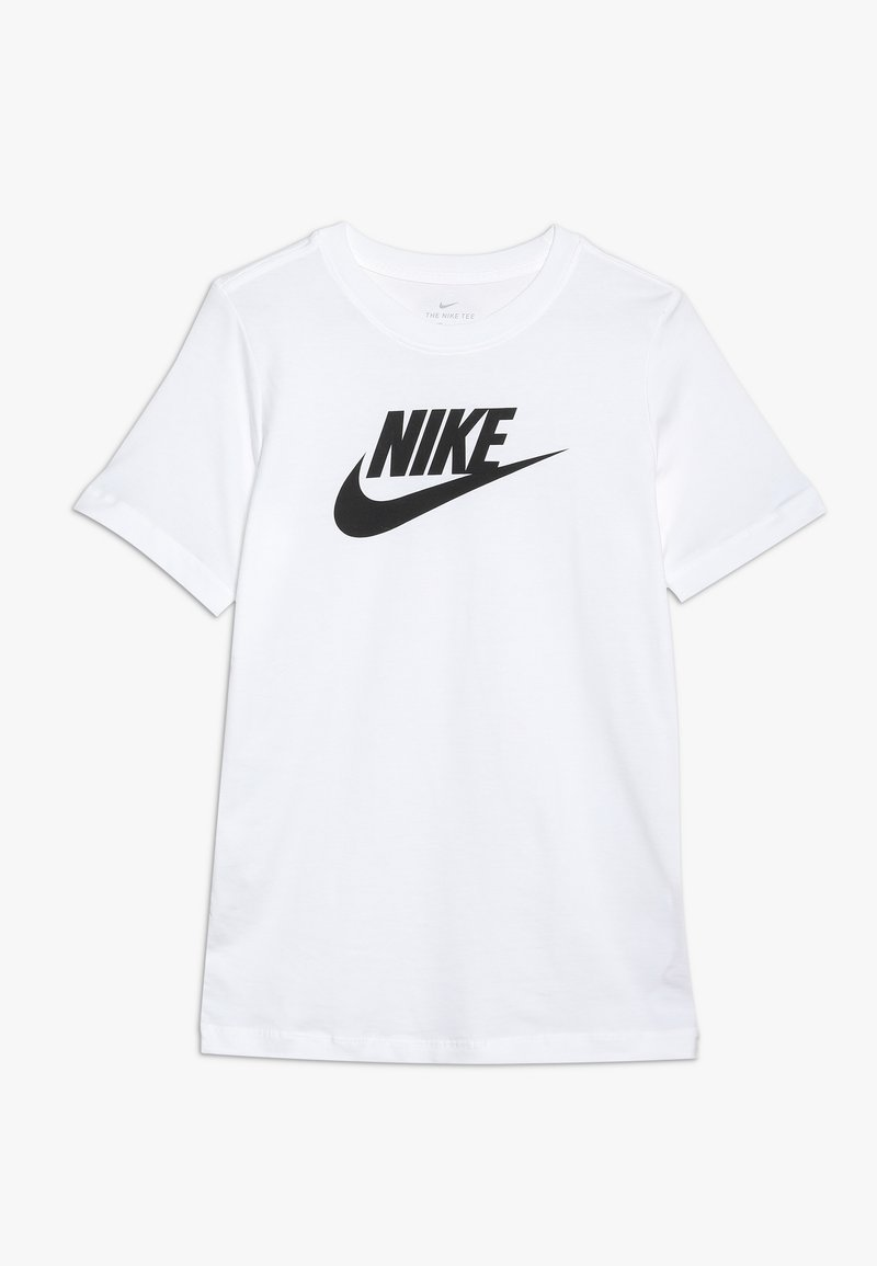 Nike Sportswear - FUTURA ICON - Triko spotiskem - white/black