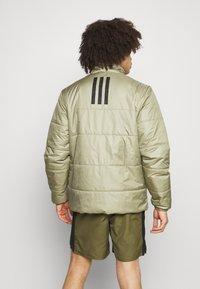 adidas Performance - BASIC 3 STRIPES INSULATED - Winter jacket - orbit green - 2