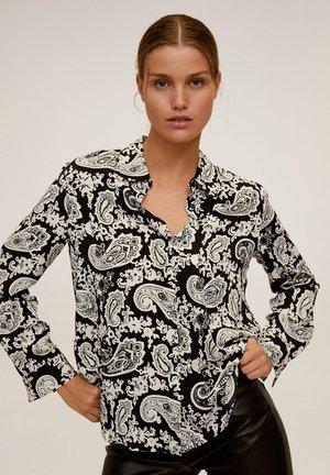 BASIC - Camicia - zwart