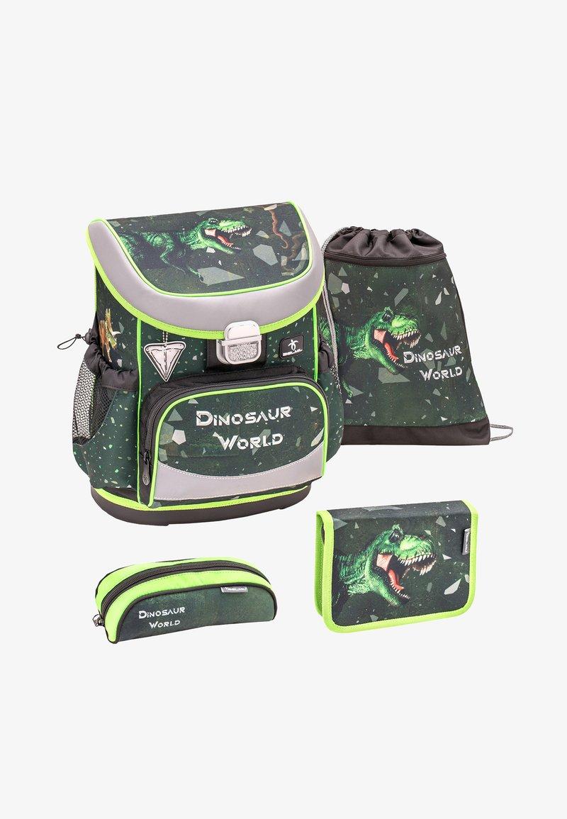 Belmil - SET - School bag - light green