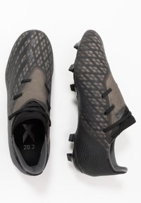 adidas Performance - X GHOSTED.2 FOOTBALL BOOTS FIRM GROUND - Moulded stud football boots - core black/grey six - 1