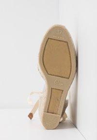 Castañer - CAROLA  - High heeled sandals - natural - 6