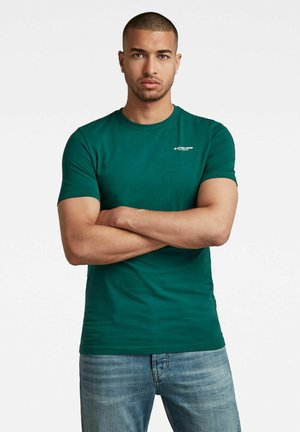 SLIM BASE R - T-shirt print - bright laub