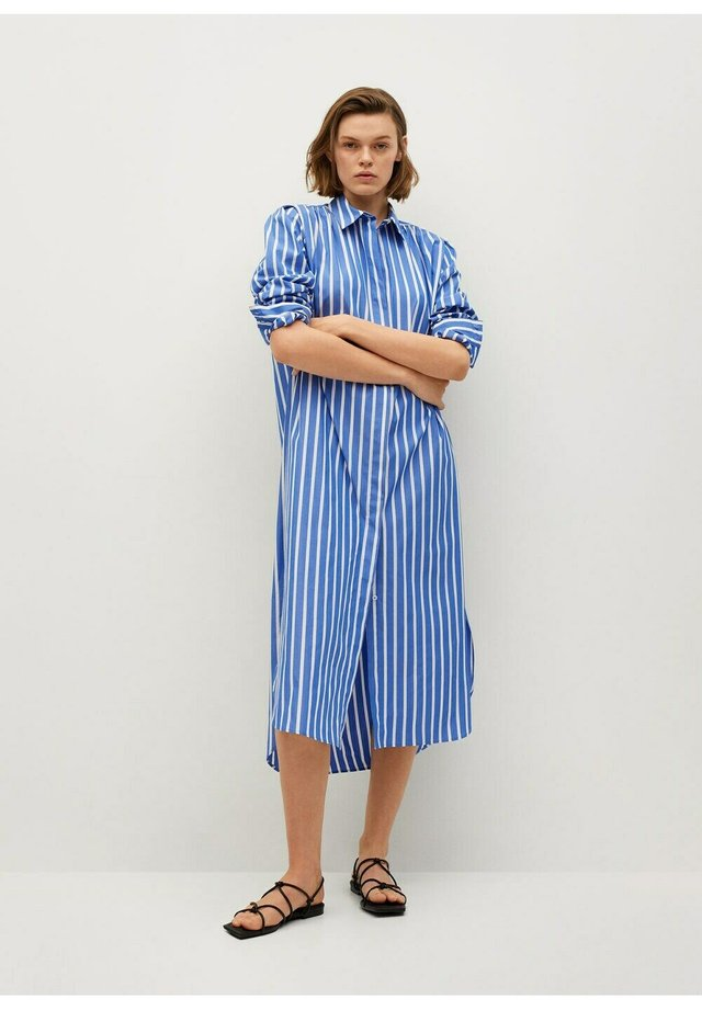 Shirt dress - azul