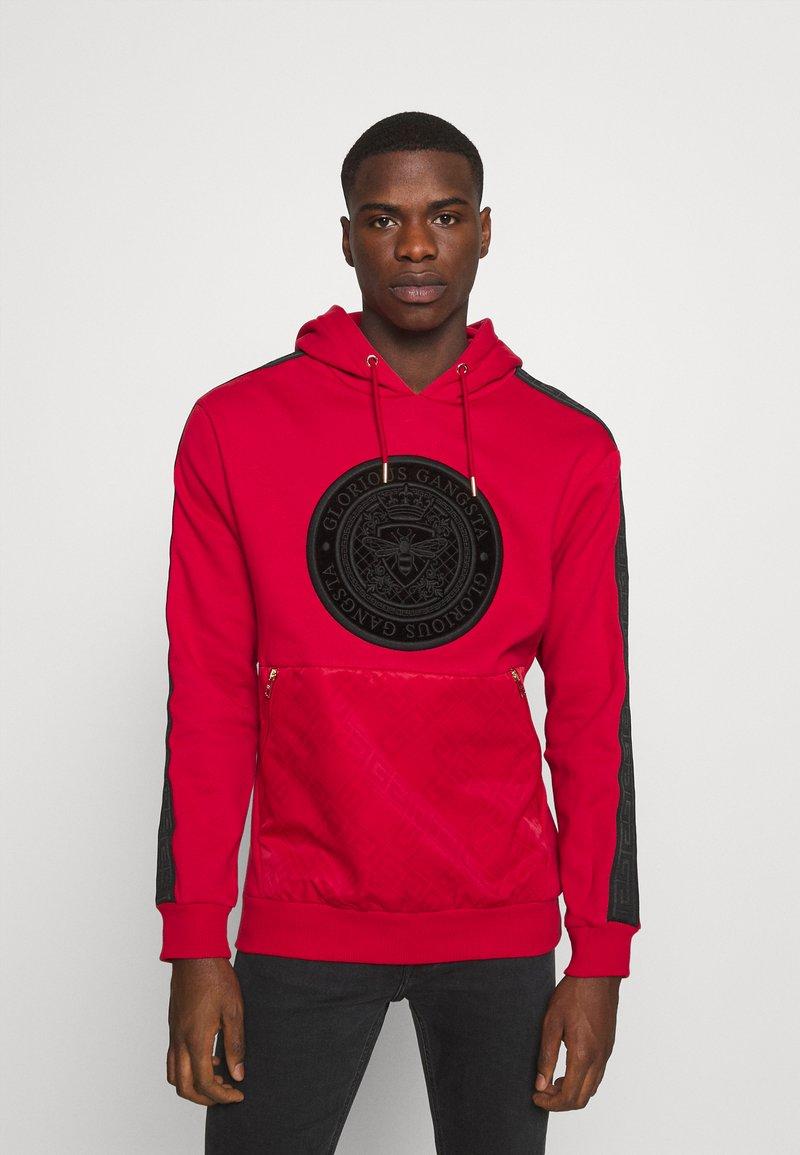 Glorious Gangsta - ABELLO OTH HOOD - Sweatshirt - red