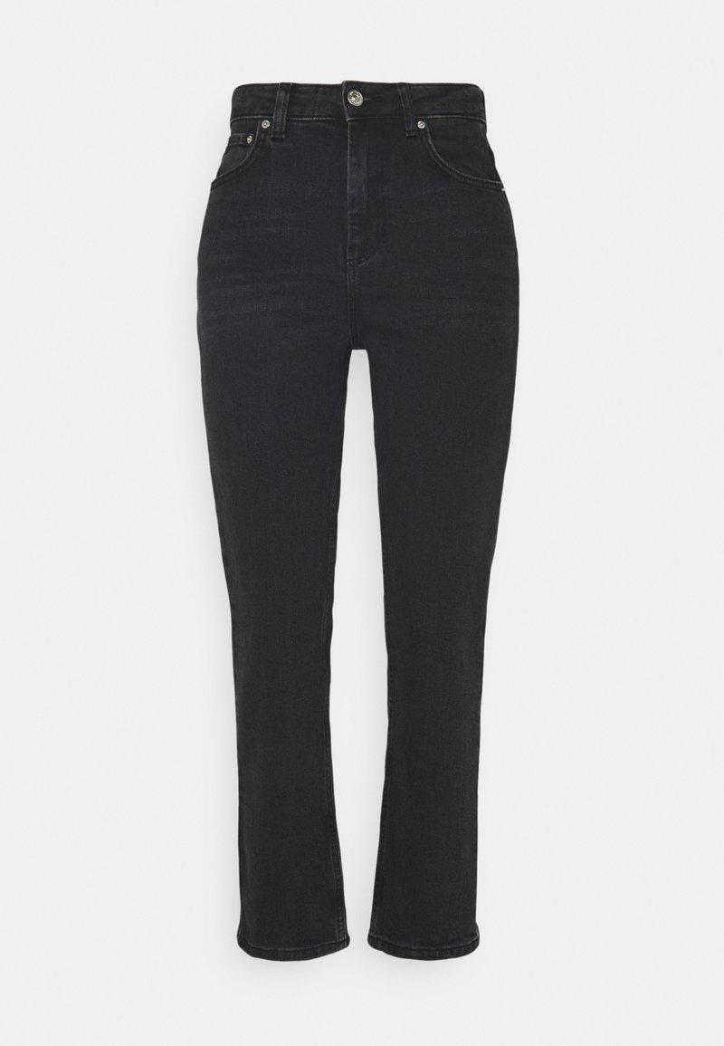 Gina Tricot - NEELA - Straight leg jeans - offblack