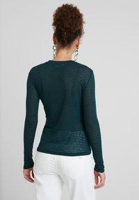 EDITED - JENNA LONGSLEEVE - Long sleeved top - dark green - 2
