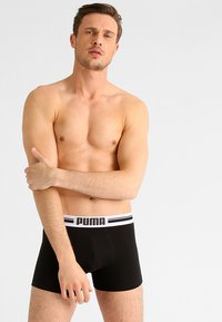 Puma - BASIC 2 PACK - Panties - black - 0