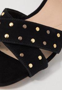 Clarks - SHEER STRAP - Sandals - black - 2