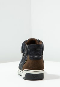 Lurchi - BARNEY-TEX - High-top trainers - atlantic/brown - 3