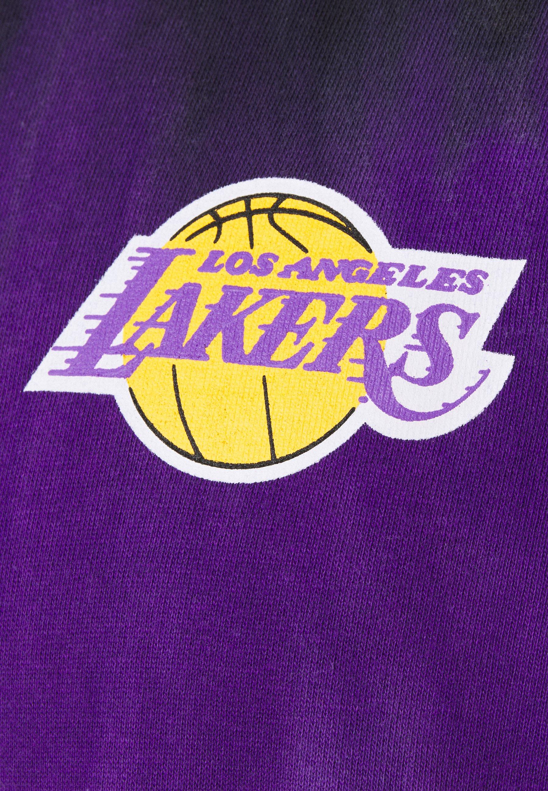 Homme NBA LOS ANGELES LAKERS TIE-DYE HOODIE - Sweat à capuche