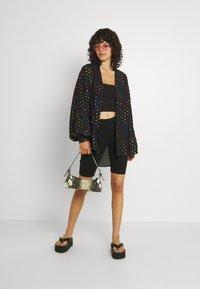 Never Fully Dressed - BLACK RAINBOW SPOT SHIRT - Button-down blouse - multi - 1