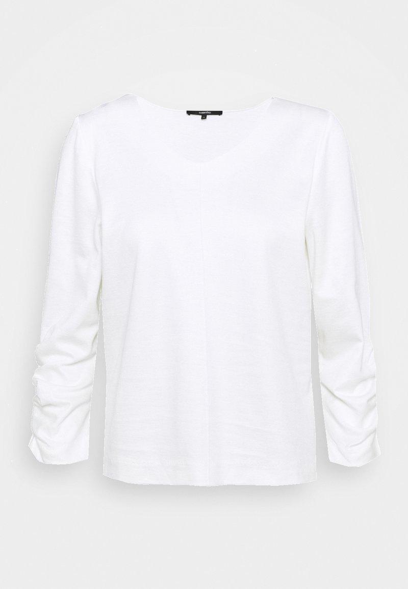 someday. - KAYEN - Long sleeved top - milk