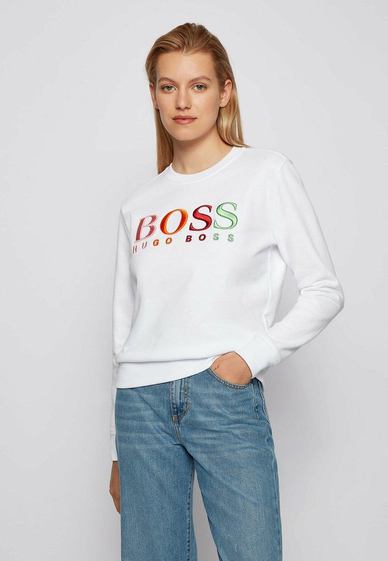 BOSS - Sweatshirt - white