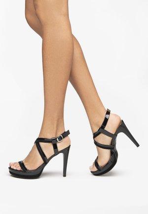 Sandales à talons hauts - nero