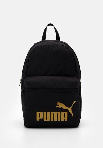 PHASE BACKPACK - Rucksack - black/golden