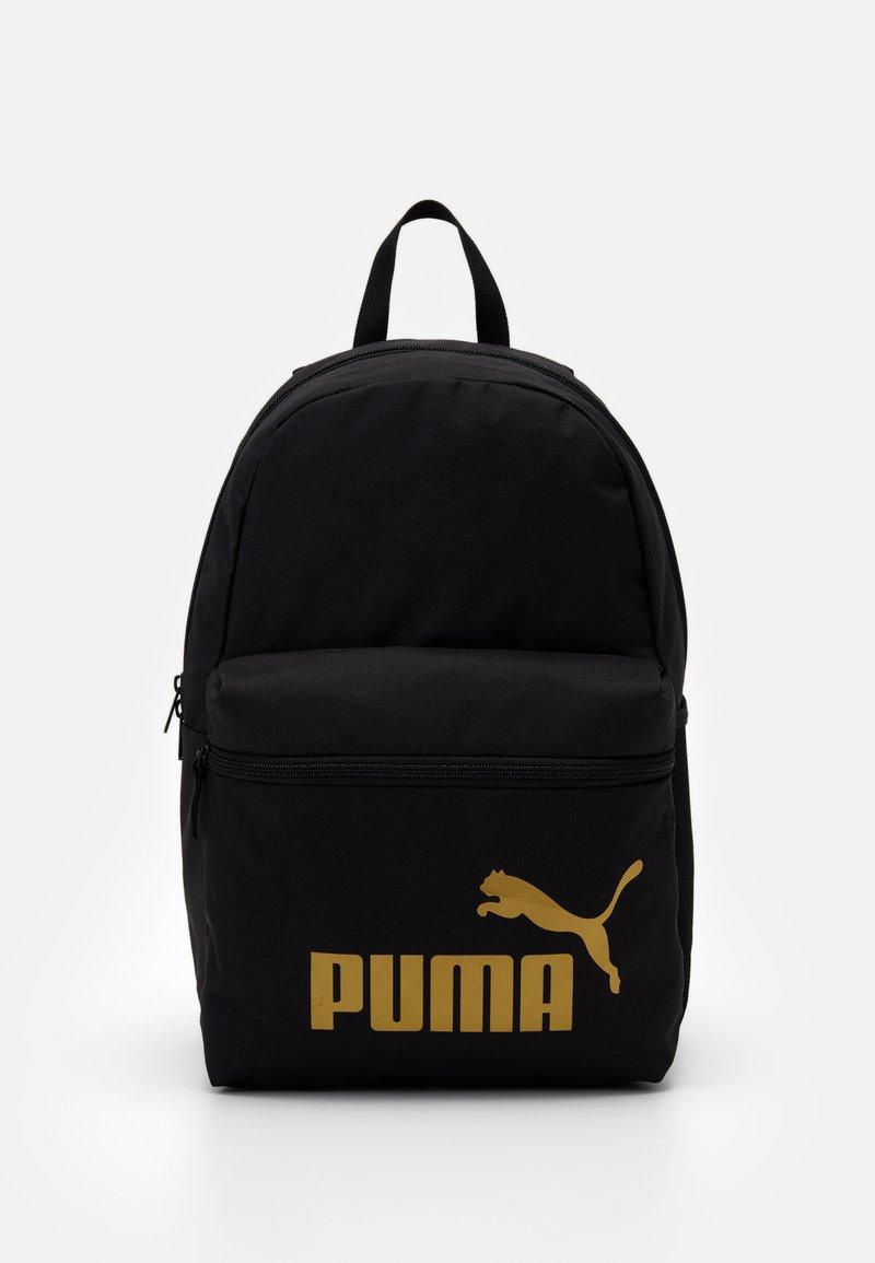 Puma - PHASE BACKPACK - Rucksack - black/golden