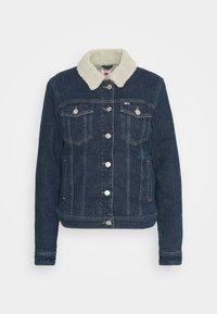 TRUCKER JACKET  - Denim jacket - oslo dark blue