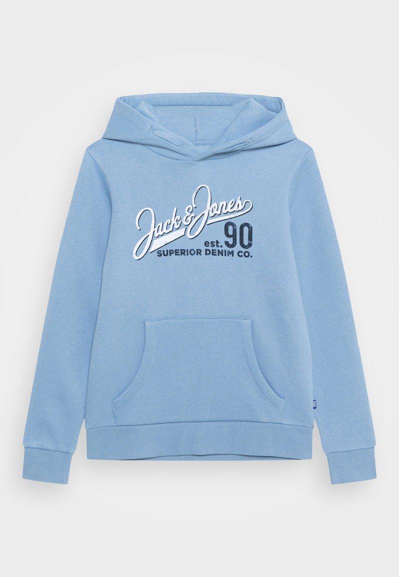 Jack & Jones Junior - JJELOGO - Hættetrøjer - faded denim