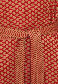 CECILIE copenhagen - LIV - Day dress - camel/red - 2