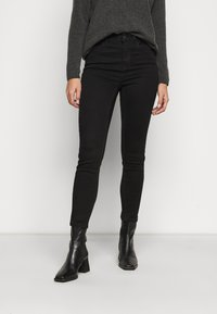 New Look Petite - LIFT AND SHAPE - Jeans Skinny Fit - black - 0
