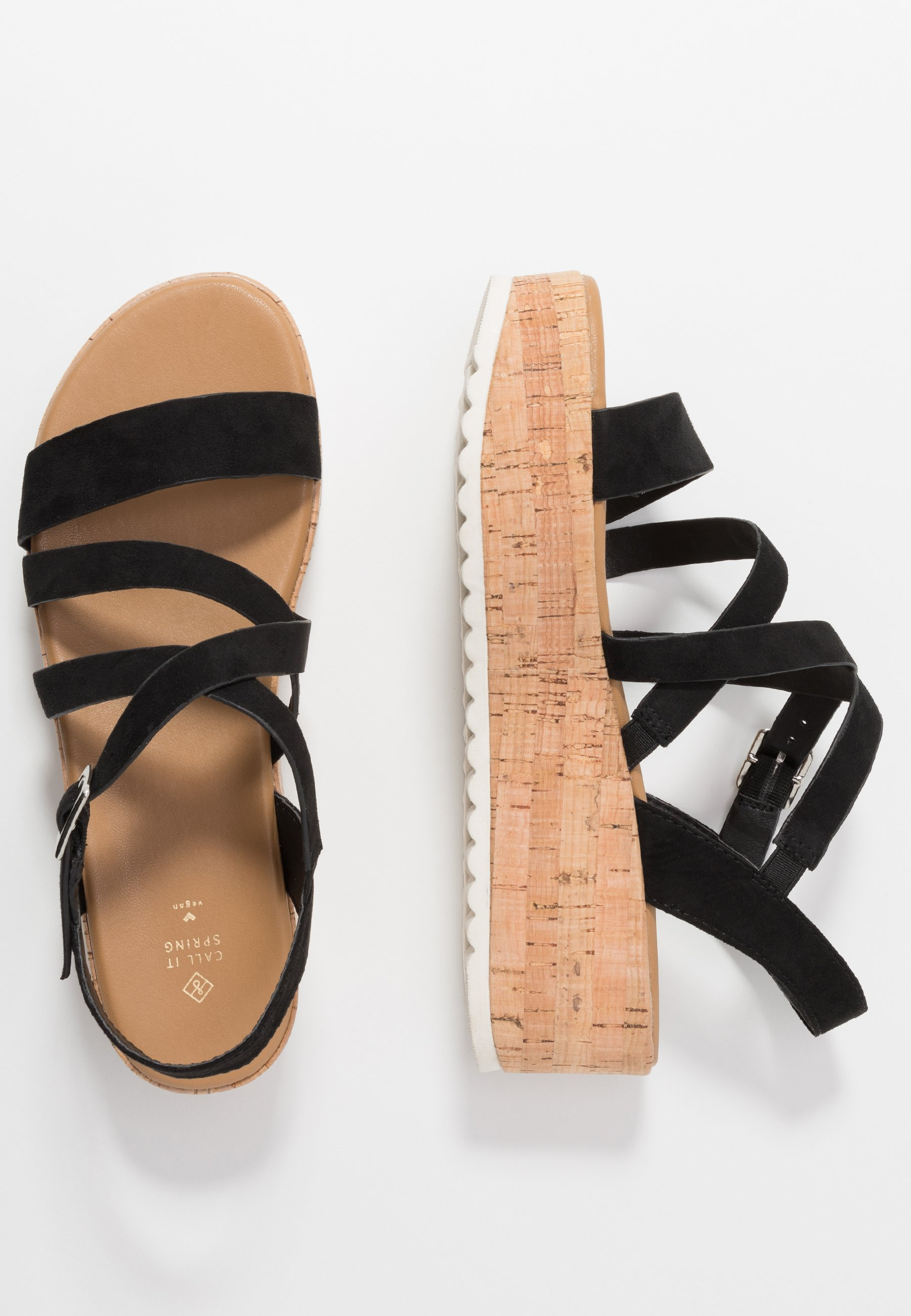 Call It Spring Haylo - Plateausandaler Black