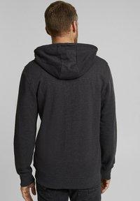 Esprit - Zip-up hoodie - anthracite - 3