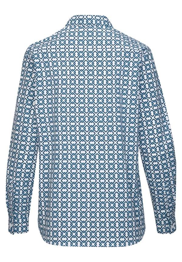 Seidensticker REGULAR FIT - Koszula - weiss/niebieski IYLN