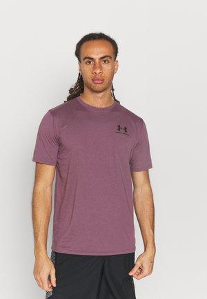 UA SPORTSTYLE LC - Jednoduché triko - purple