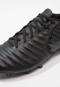 Nike Performance - LEGEND 7 ACADEMY MG - Moulded stud football boots - black/light crimson - 5
