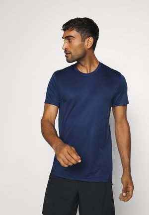 HEAT.RDY TRAINING SLIM SHORT SLEEVE TEE - Camiseta estampada - tech indigo