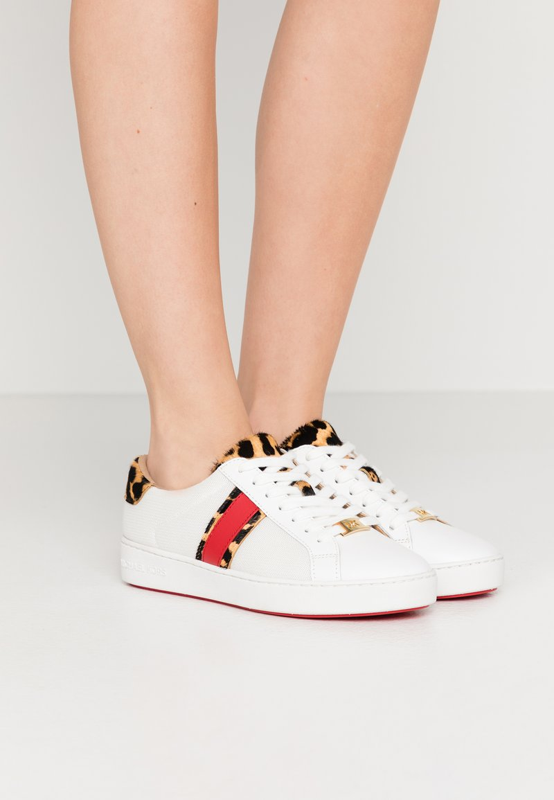 MICHAEL Michael Kors - IRVING LACE UP - Zapatillas - white