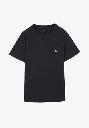 POCKET SKULL TEE - T-shirt basic - anthracite