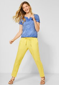 Cecil - Basic T-shirt - blau - 1